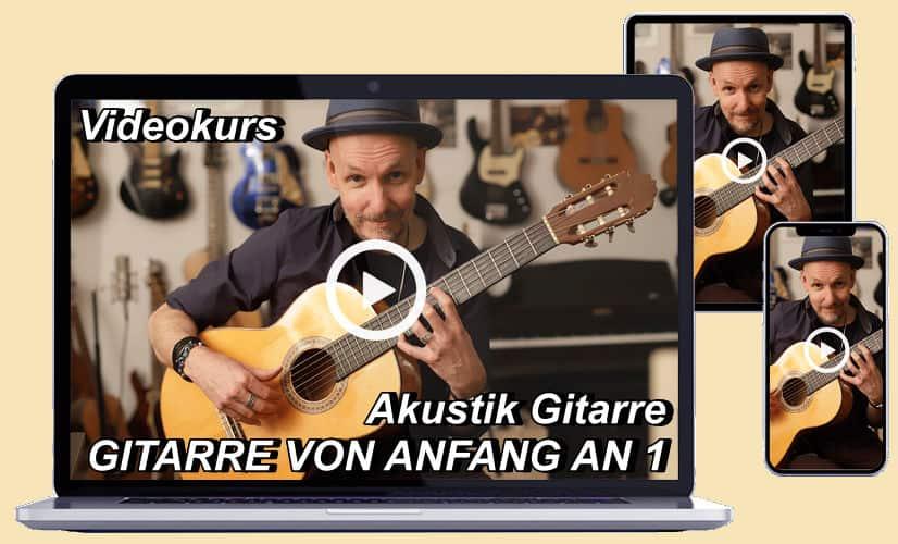 Videokurs Akustikgitarre 1